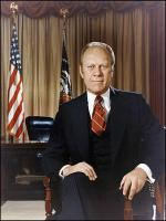 Gerald Ford at White House