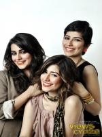 Syra Yousuf With pakistani models