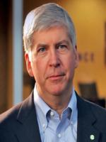 Rick Snyder at White House