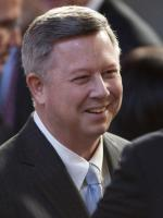 Dave Heineman at White House