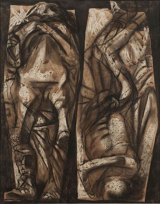 Rico Lebrun  Italian-American painter