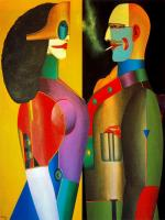 Richard Lindner German-American painter