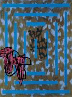 Jonathan Lasker American artist.
