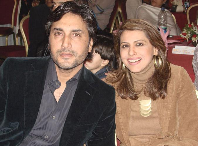 Adnan Siddiqui with Drama Actress