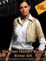 Rachel Gill Pakistani fashion Model
