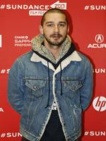 Shia LaBeouf at award ceremony