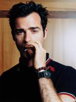 Justin Theroux while smoking