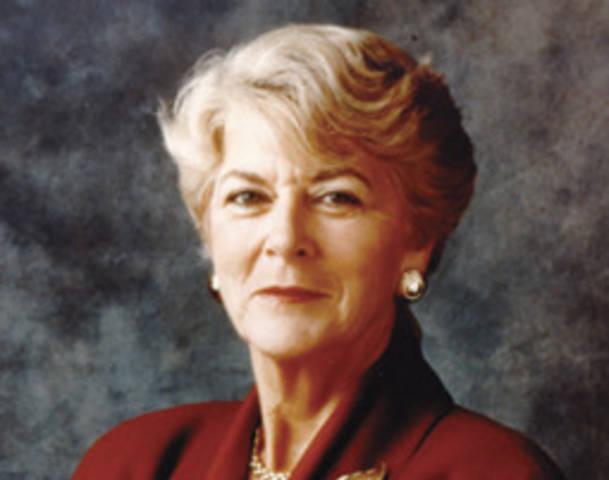 Geraldine Ferraro in presidential campaign