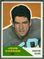 Johnny Carson American footballer