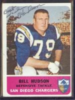 Bill Hudson American football defensive tackler