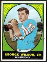 George Wilson quarterbacker