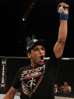 Darren Elkins Celebrating
