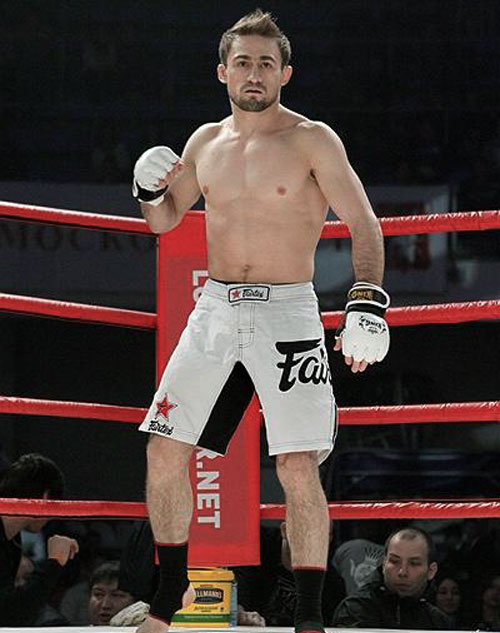 Ali Bagautinov in Ring