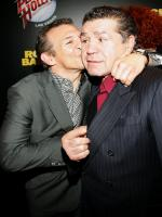 Vito Antuofermo Reciving Kiss