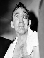 Carmen Basilio after Hard Punch
