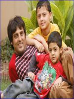 Afzal Khan with Kids