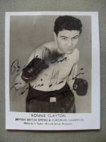 Ronnie Clayton in Action