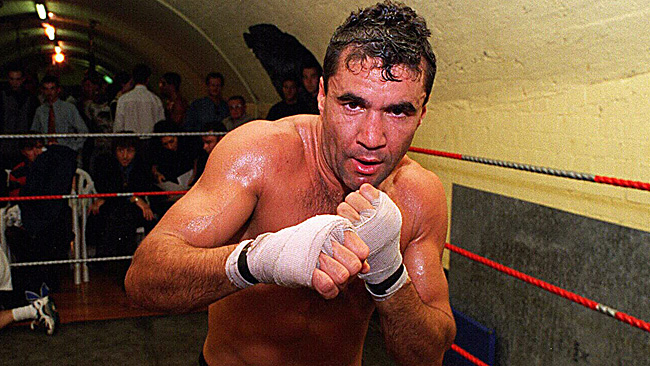 Jeff Fenech in Action