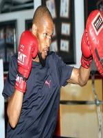 Ali Funeka Practicing