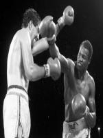 Larry Holmes in Action