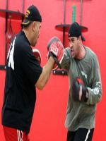 David Rodriguez Practicing