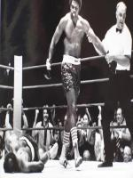 Earnie Shavers in Match