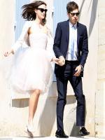 James Righton wedding picture