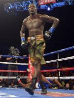 Deontay Wilder in ring