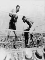 Jess Willard in Action