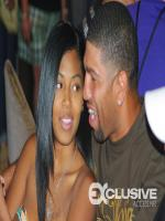 Winky Wright With Wife