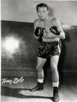 Tony Zale in Action