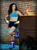 Patricia Alcivar Modeling Pic