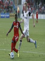 Nat Borchers in Match