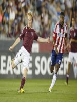 Jeff Larentowicz in Action