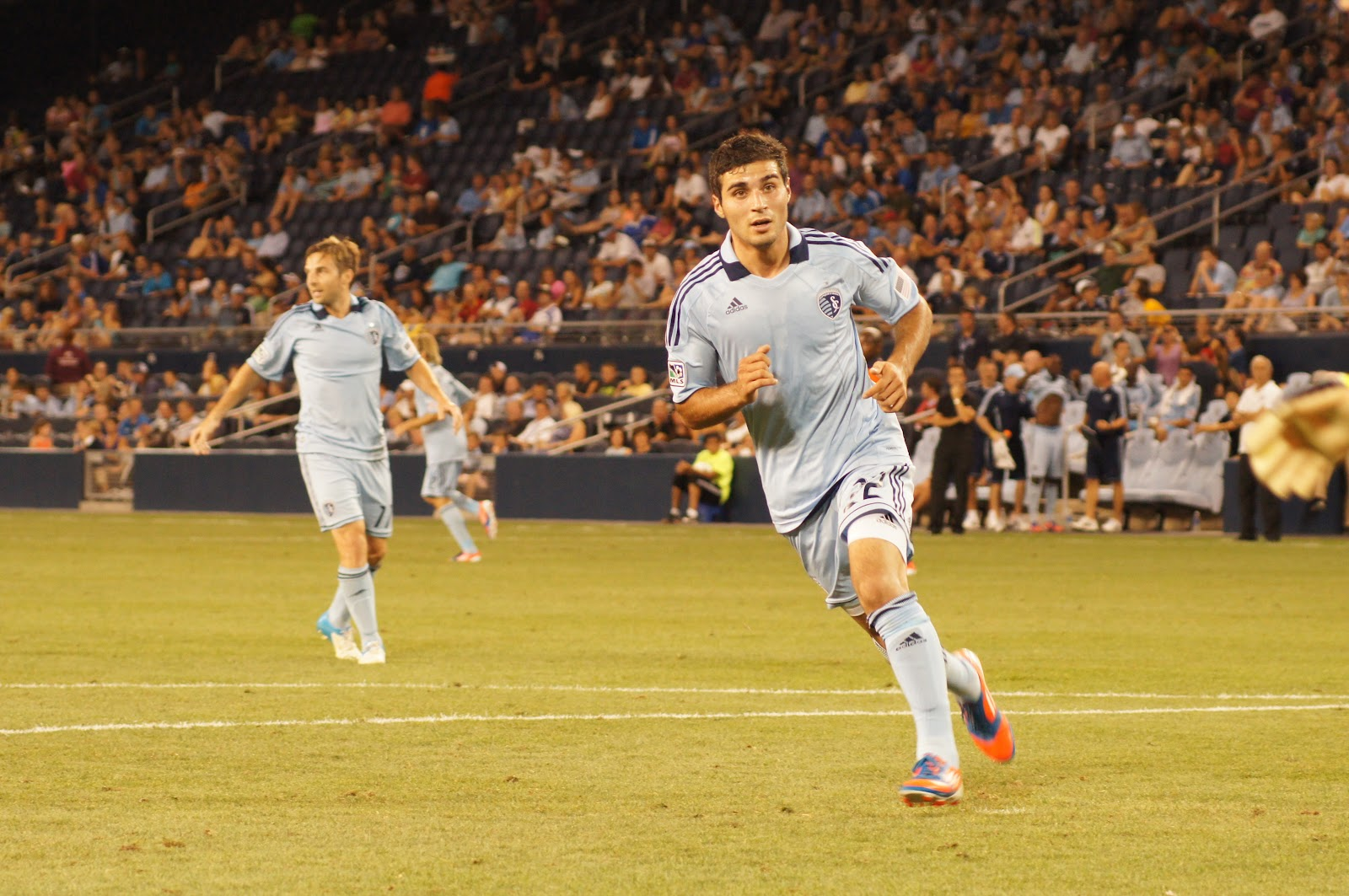 Soony Saad in Match