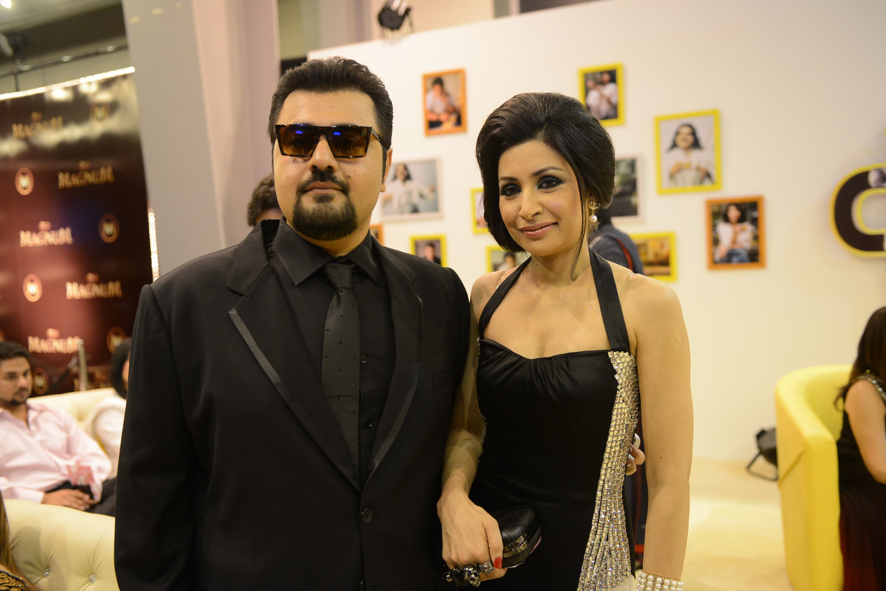 Ahmed Ali Butt with Pakistani Actress