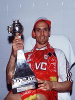 Steve Bould With Troffy