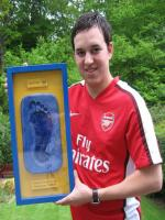 Lee Dixon With Award