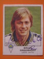 Brian Greenhoff Photo Shot