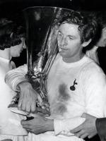 Alan Mullery With Troffy