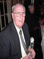 Fred Pickering With Award