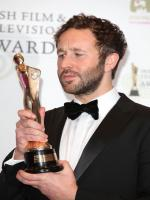 Chris O'Dowd winning award