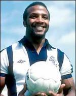 Cyrille Regis With Football