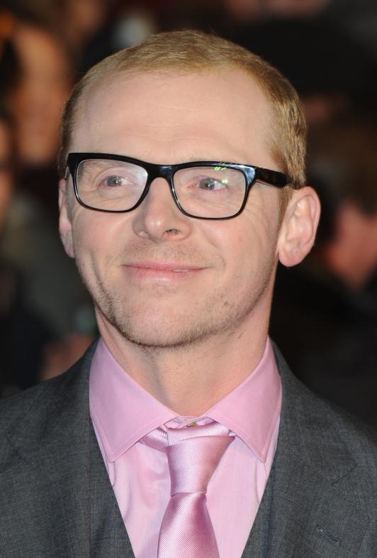 Simon Pegg in film Paul