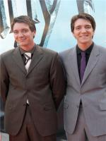 James and Oliver Phelps in  Harry Potter