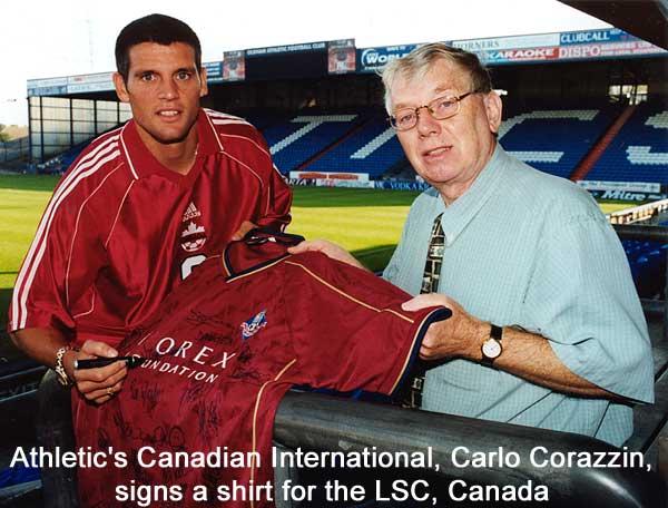Carlo Corazzin Group Pic