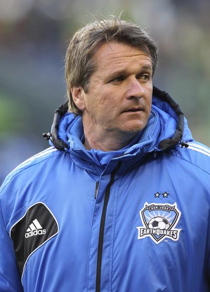 head Coach Frank Yallop