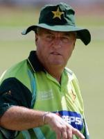 Current Pakistani Coach Bob Woolmer