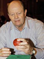 Commentator Tony Greig