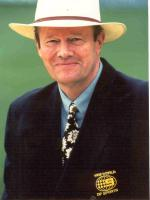Tony Greig With Ball